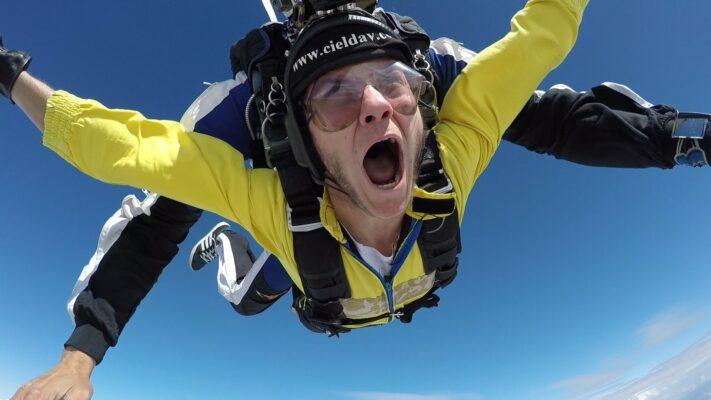 saut en parachut